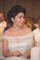 Shriya Saran in Stunning White Off Shoulder Gown at Nakshatram music launch ~  Exclusive (15).JPG