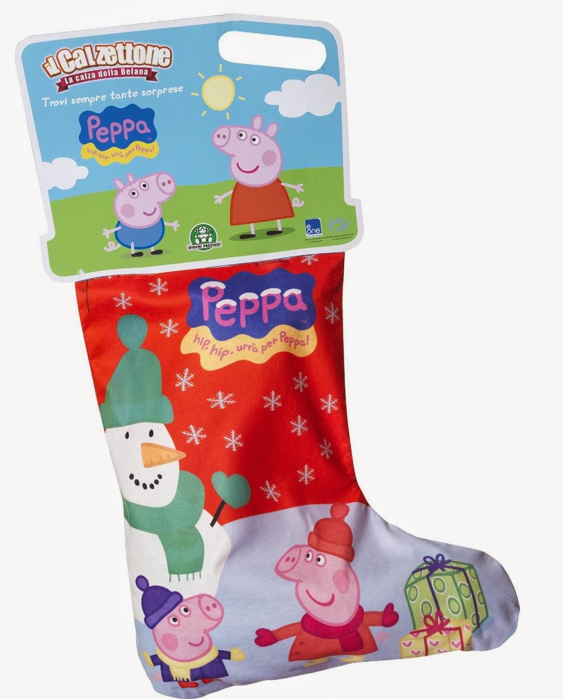 outlet store 15960 a3e29 Il calzettone di Peppa Pig di Giochi Preziosi per la Befana ...