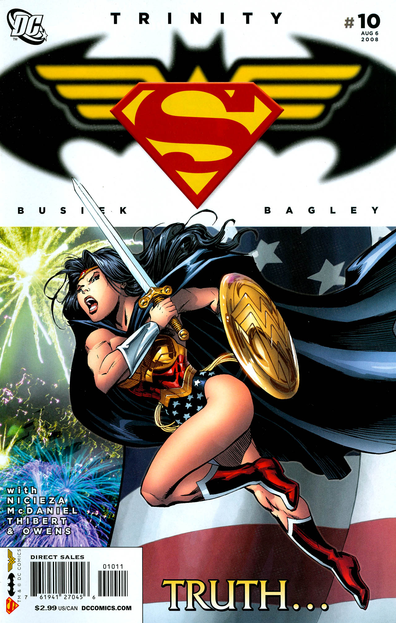 Read online Trinity (2008) comic -  Issue #10 - 1