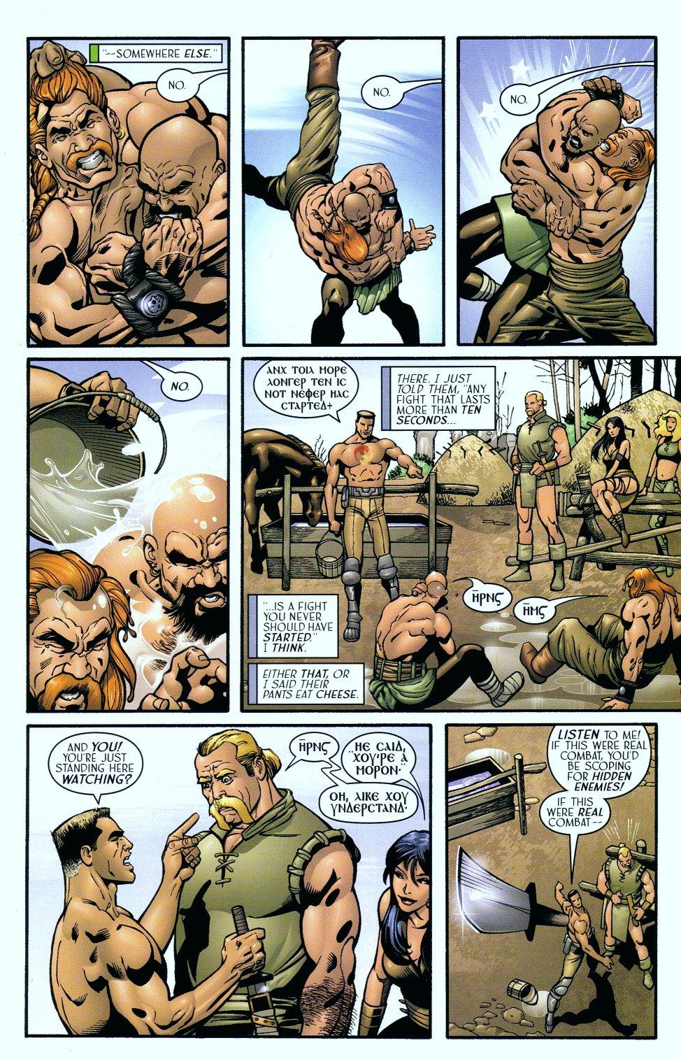 Read online Sigil (2000) comic -  Issue #18 - 13