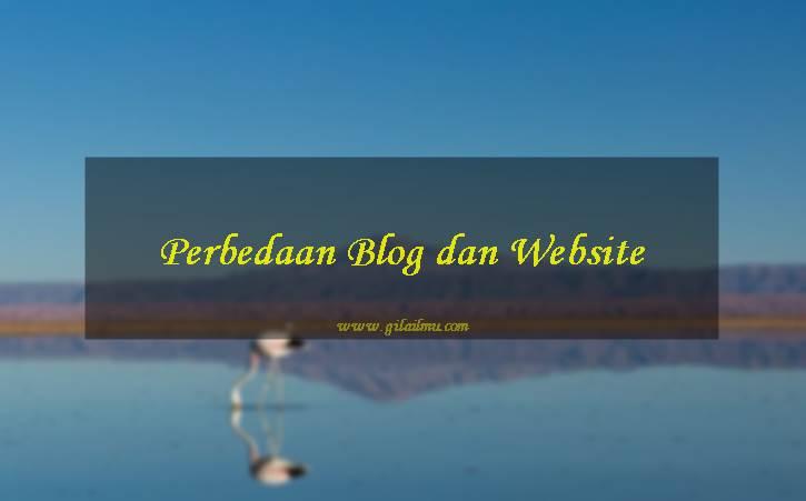 Ketahui 5 Perbedaan Utama antara Sebuah Blog dan Situs Web (Website)