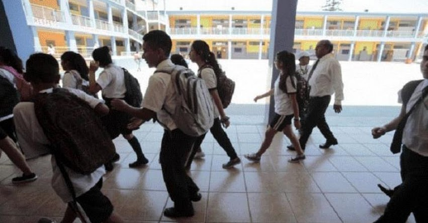 AÑO ESCOLAR 2019: Himno Nacional de Venezuela se cantó el primer día de clases en colegio de San Martín de Porres