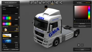 MAN TGX GMA Skin