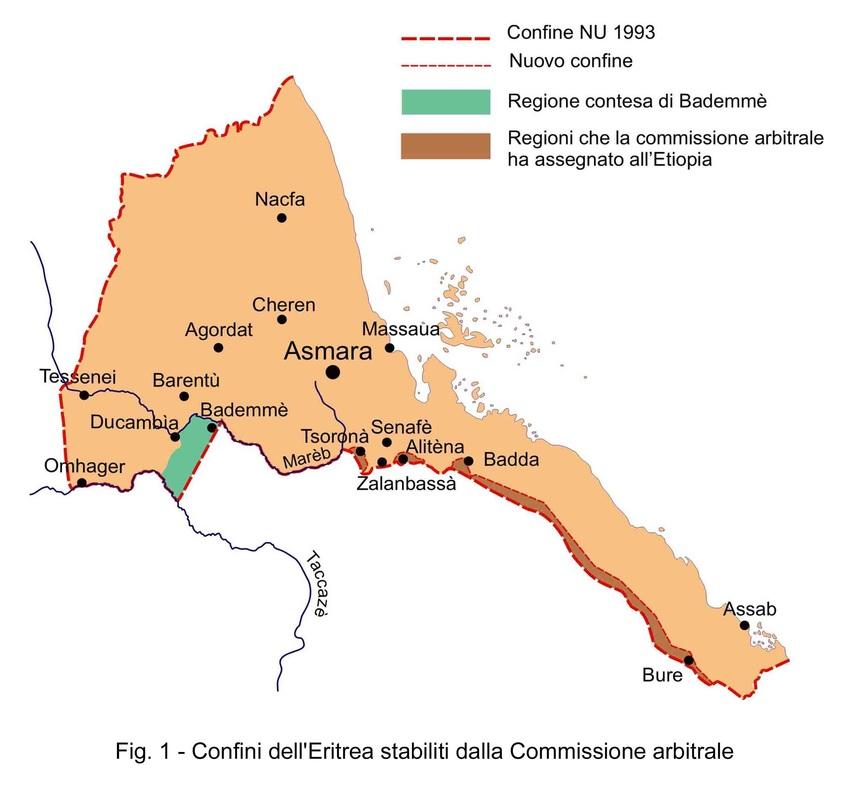 Cartina Eritrea.Africa L Ottava Guerra Del Nobel Per La Pace E Lo Scoglio Eritrea Generale Russo Venaus