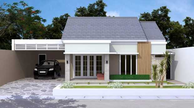 Bentuk Depan Rumah Sederhana