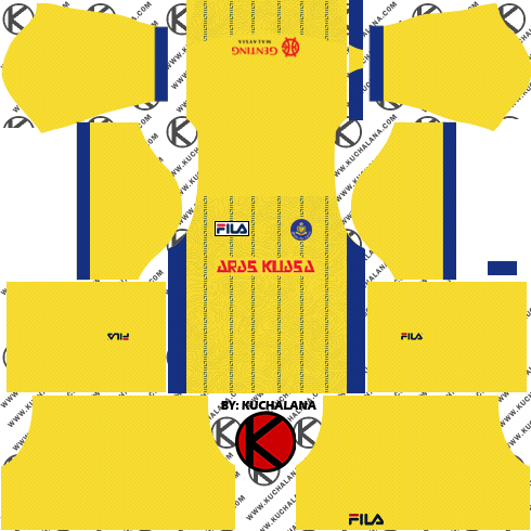 Pahang FA Fila Kits 2018 -  Dream League Soccer Kits