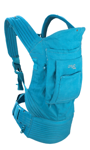 Onya Cruiser Soft Structured Carrier (SSC) in Lapis Blue.