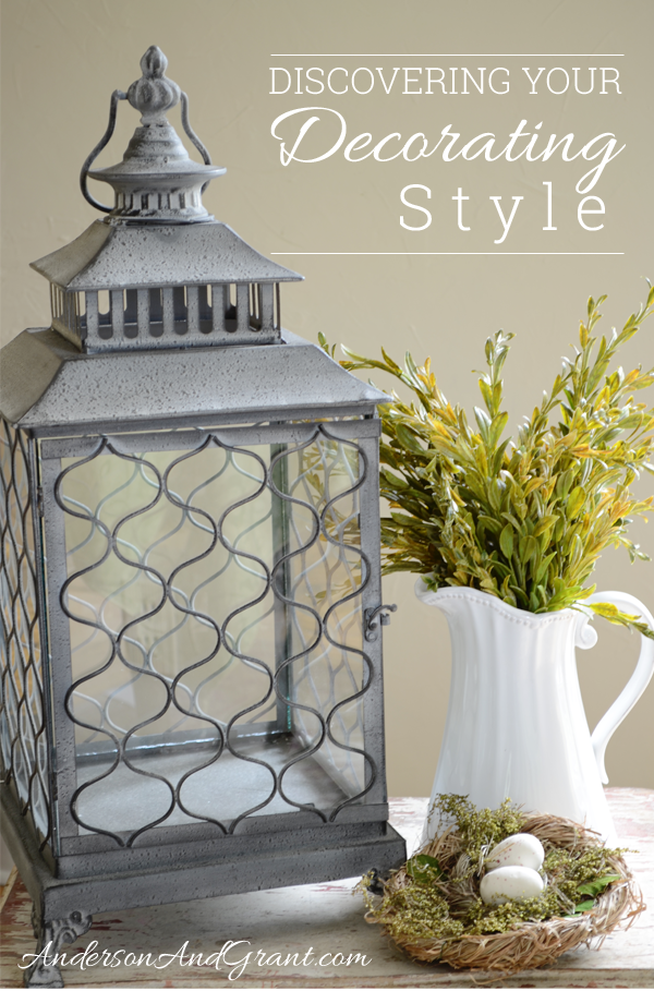 Tips for Discovering your Decorating Style from www.andersonandgrant.com