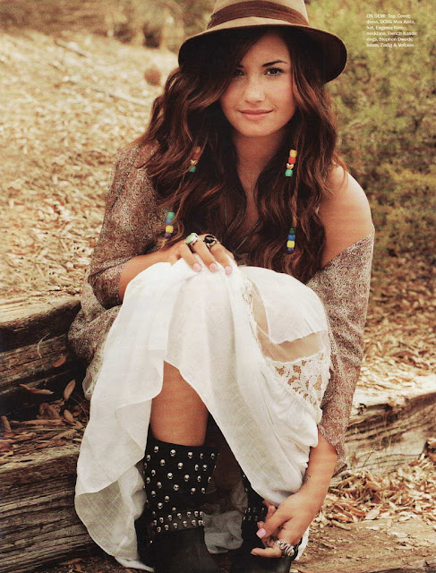 1970s Seventeen Magazine It S That Bohemian Things Again: Peace, Love & Magazines: Editorial: Demi Lovato For