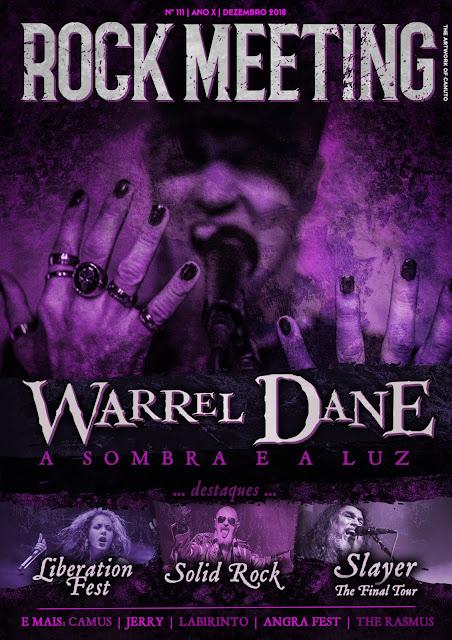Rock Meeting: homenagem a Warrel Dane