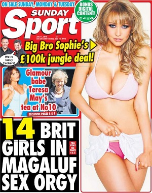Sunday Sport 17 July 2016 SIngle Link, Direct Download Sunday Sport 17 July 2016