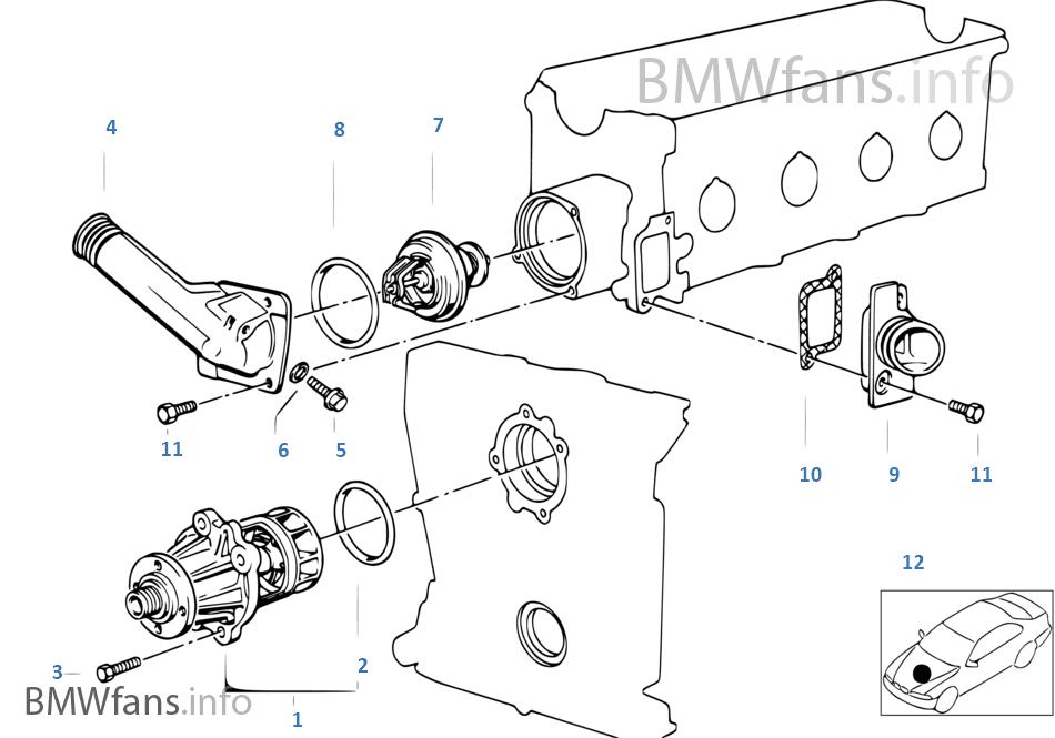 BMW PROBLEM SOLVING: Part mesin BMW E36 M40 Bag 3