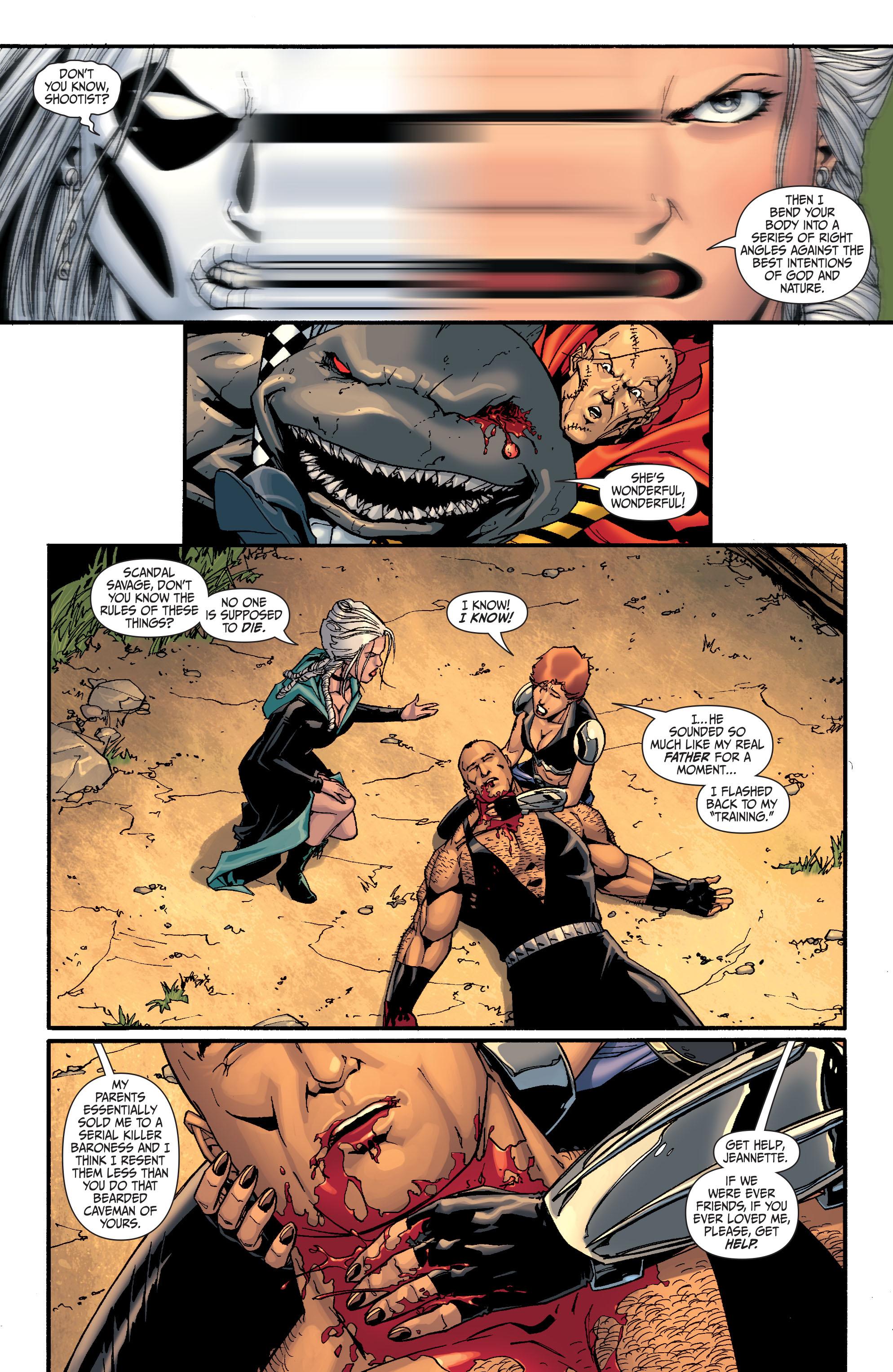Read online Secret Six (2008) comic -  Issue #27 - 8