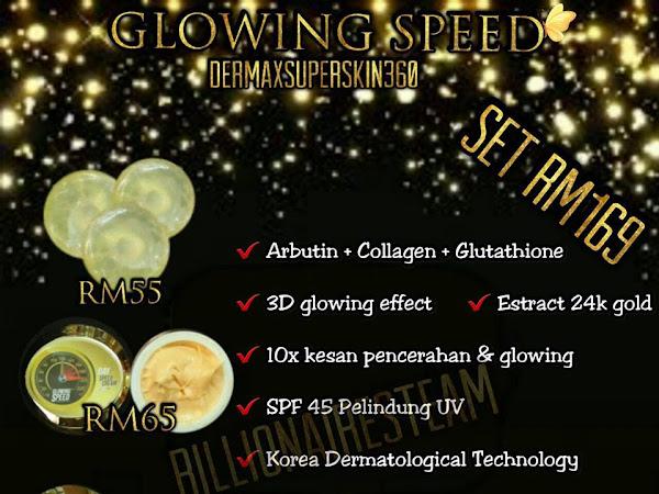Perbezaan Skincare Dms360, Cermin Seri dan Glowing Speed
