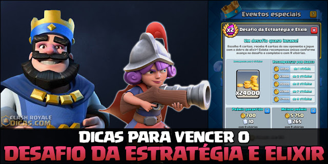 Como vencer Desafios do Clash Royale