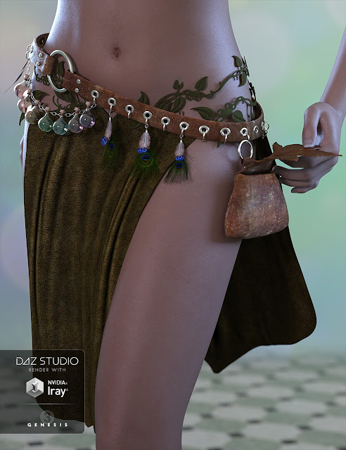 Woodland Elf for Genesis 3 Female