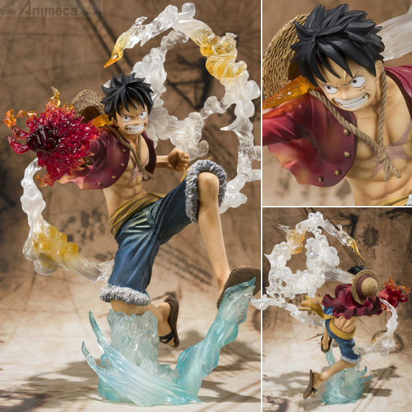 FIGURA MONKEY D. LUFFY Battle Ver. Gomu Gomu no Red Hawk Figuarts ZERO ONE PIECE