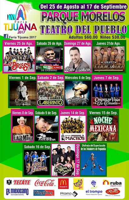 teatro del pueblo feria tijuana 2017