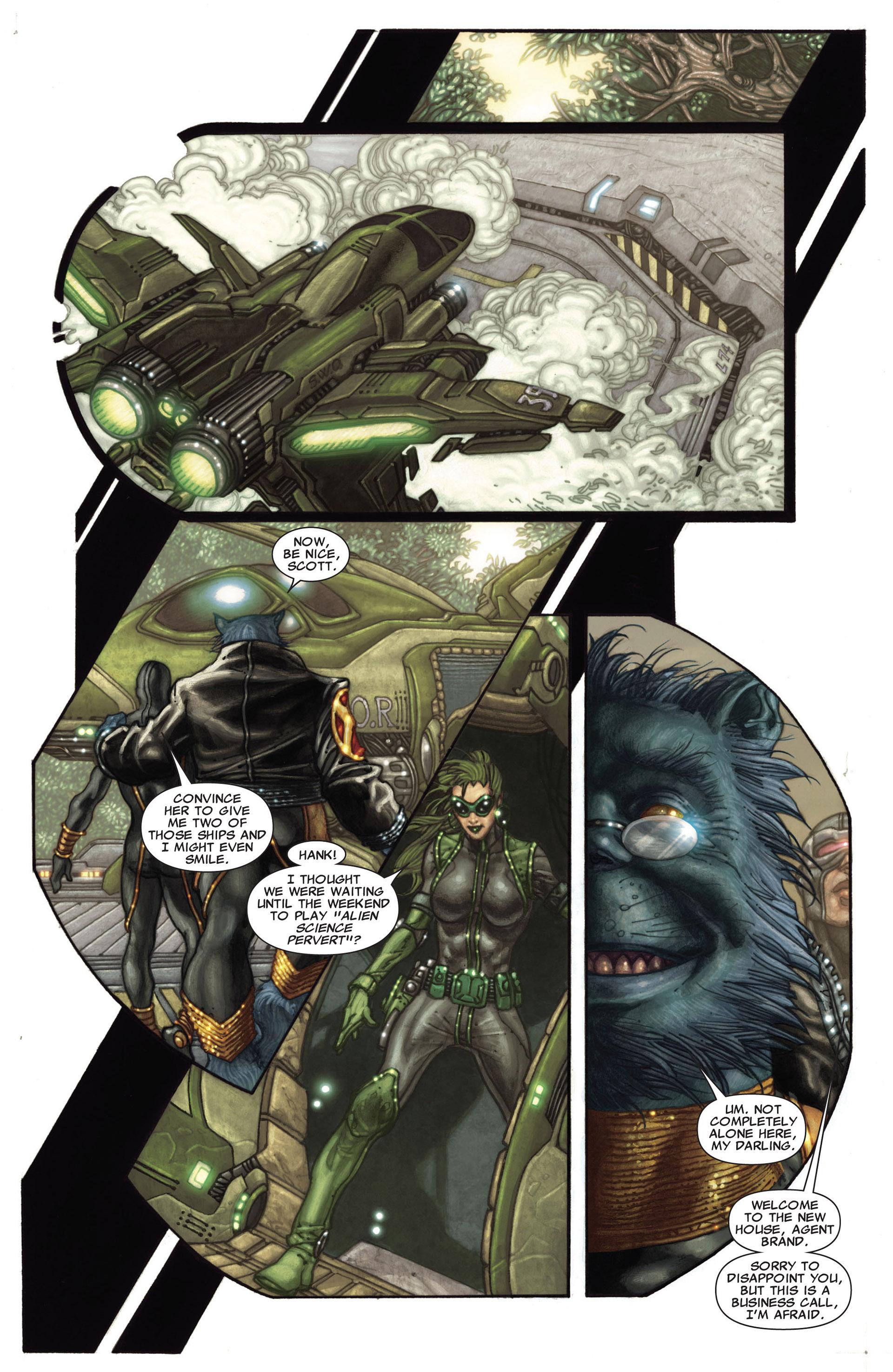 Read online Astonishing X-Men (2004) comic -  Issue #27 - 10