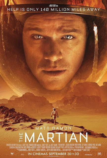 the martian 3d review