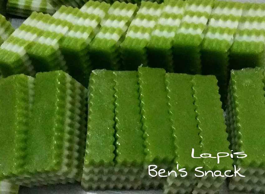 Resep Lapis Tepung Beras
