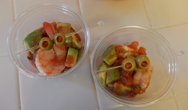 Shrimp Coktail Happy Halloween Party Food Appetizers Protein Fitness Weight Loss Surgery Recipes