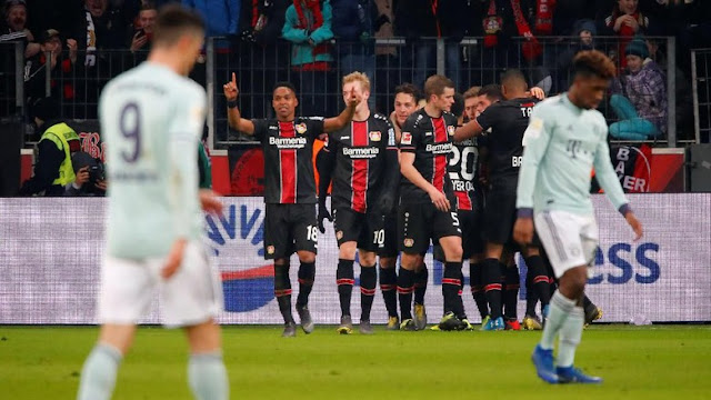 Hasil Liga Jerman: Sempat Unggul, Bayern Digebuk Leverkusen 1-3