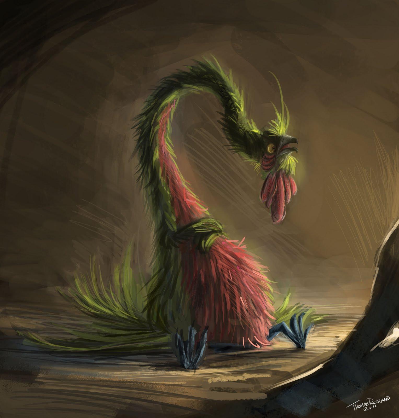 Thomas Roisland: Fantasy bird