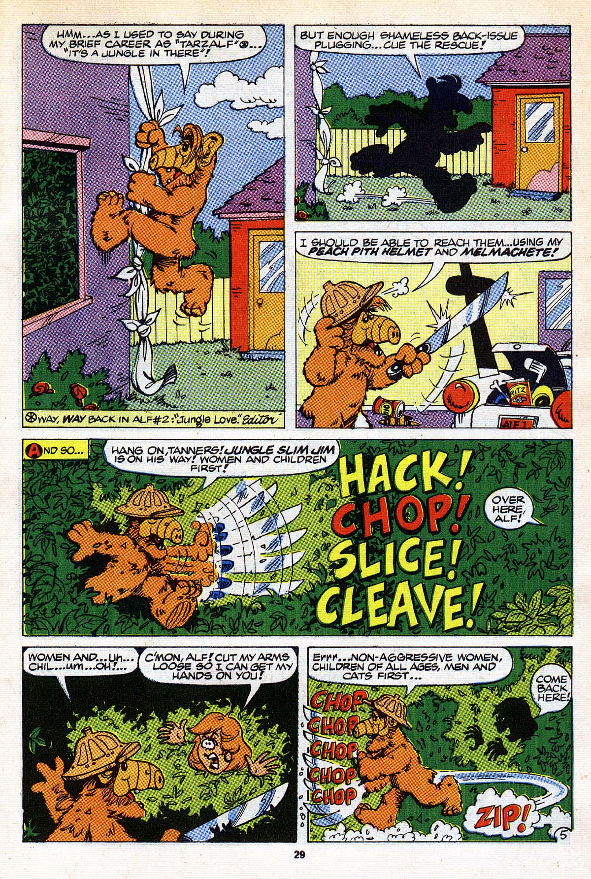 Read online ALF comic -  Issue #26 - 23