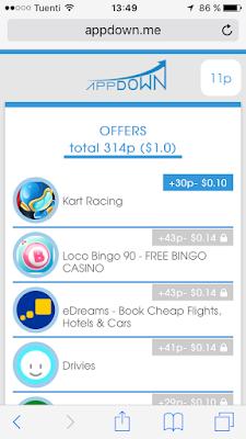 ofertas appdown lovecashin.com