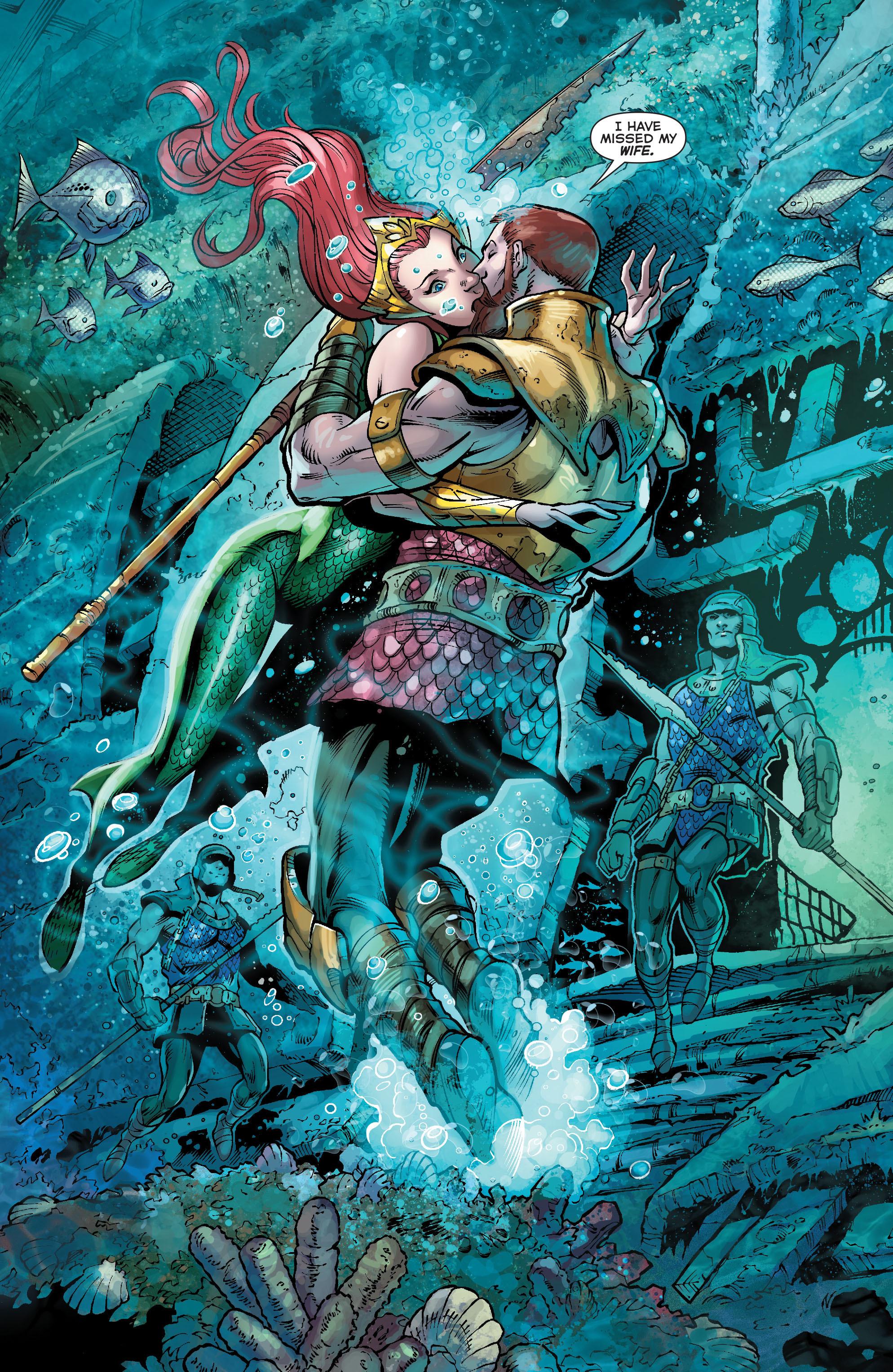 Read online Aquaman (2011) comic -  Issue #21 - 3