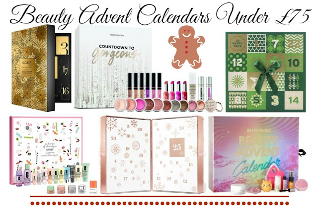 Beauty Advent Calendars Under £75