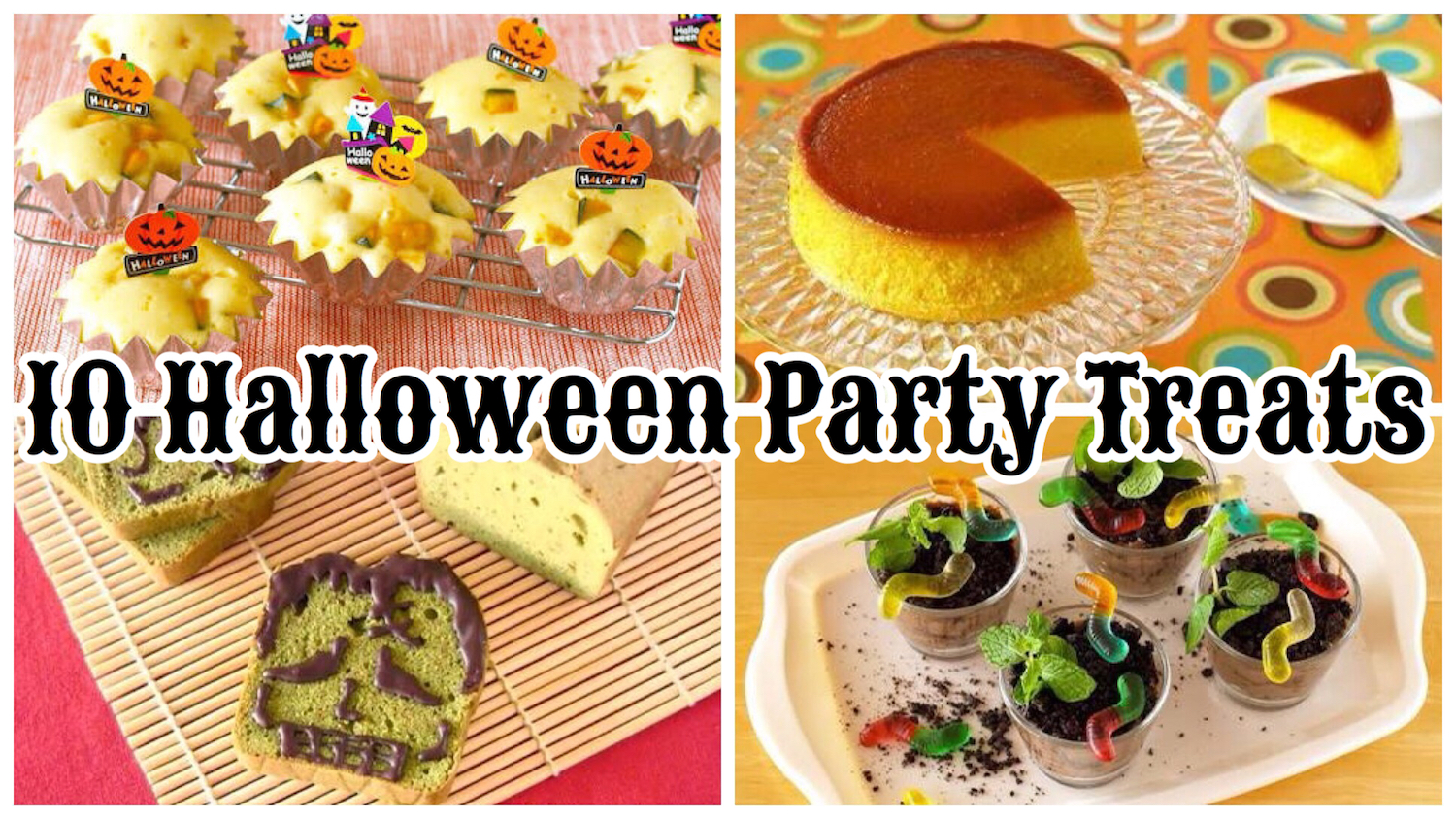 10 best halloween party treats cute fun and easy recipes