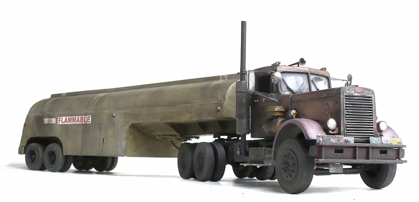 The Great Canadian Model Builders Web Page!: Peterbilt 281 With