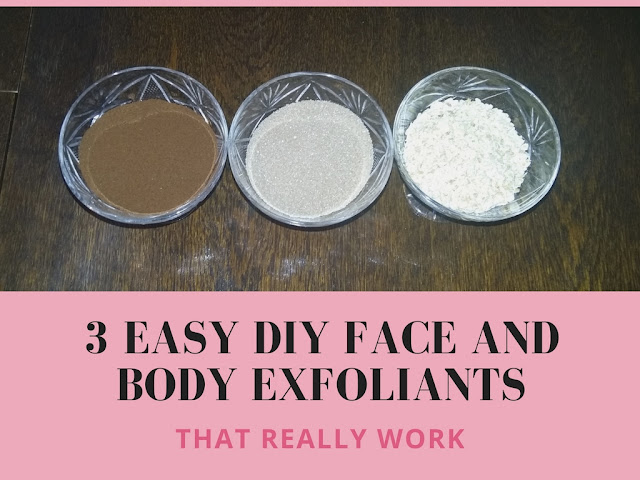 3 easy DIY face and body exfoliants