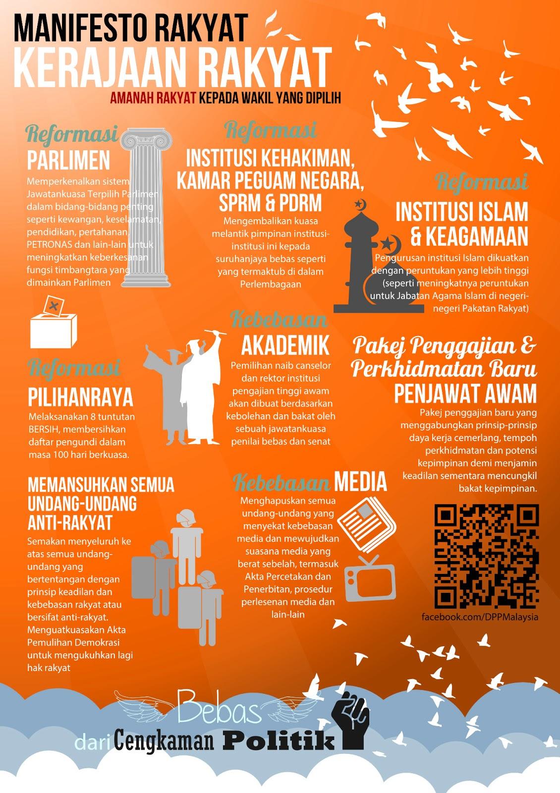 PAKATAN RAKYAT MANIFESTO PDF DOWNLOAD