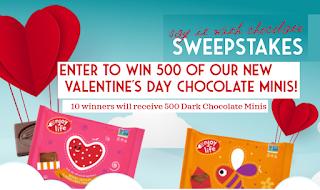 Win 500 Mini Chocolates From Enjoy Life Foods! - 10 Winners