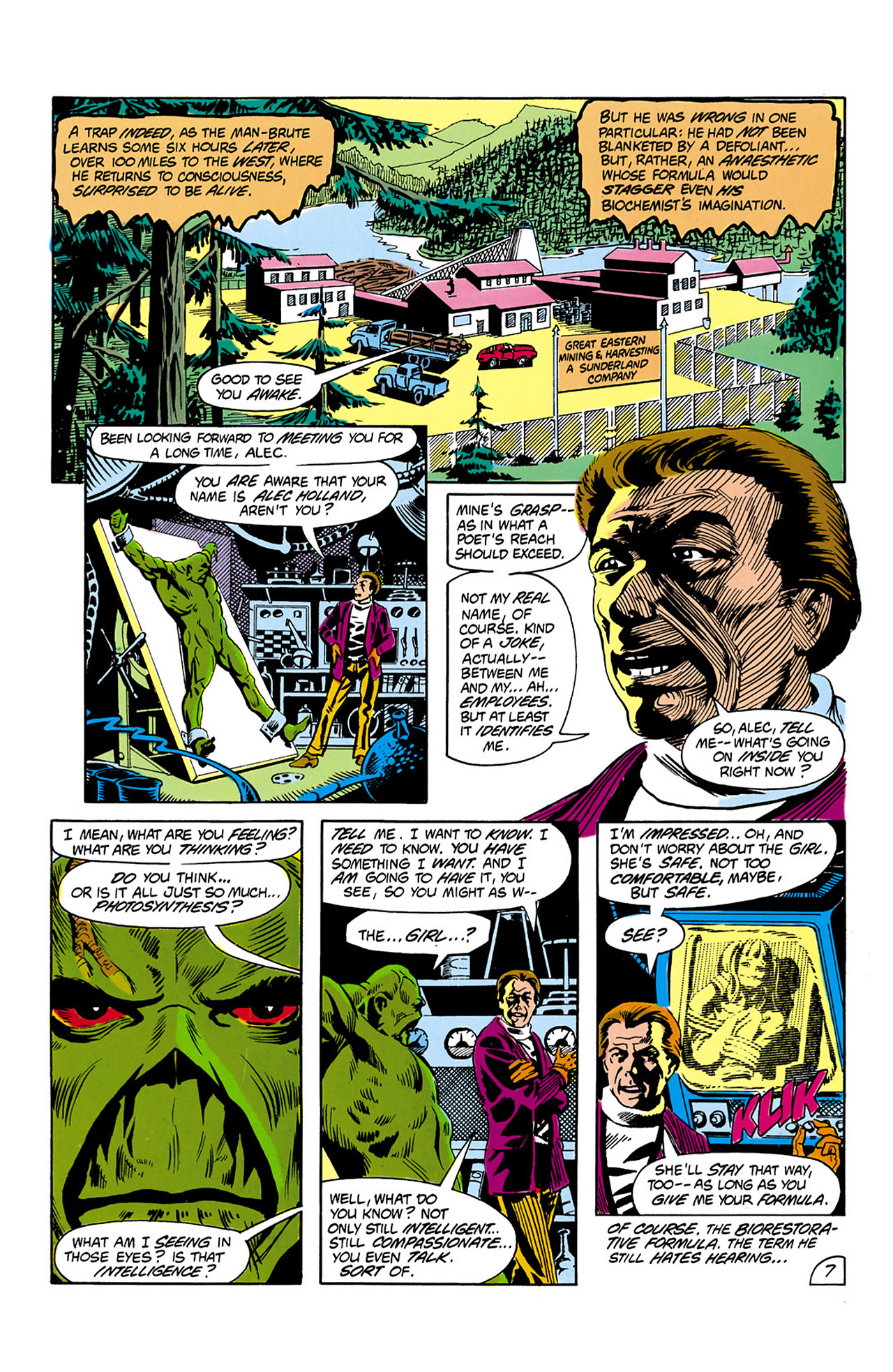 Swamp Thing (1982) Issue #2 #10 - English 8