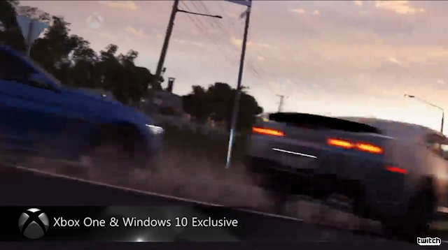 Forza Horizons 3 Microsoft E3 2016 Xbox One Windows 10 Exclusive