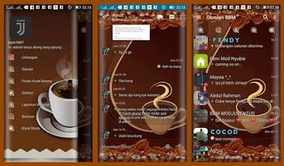 Download BBM Mod Coffe v3.2.5.12 Apk Keren