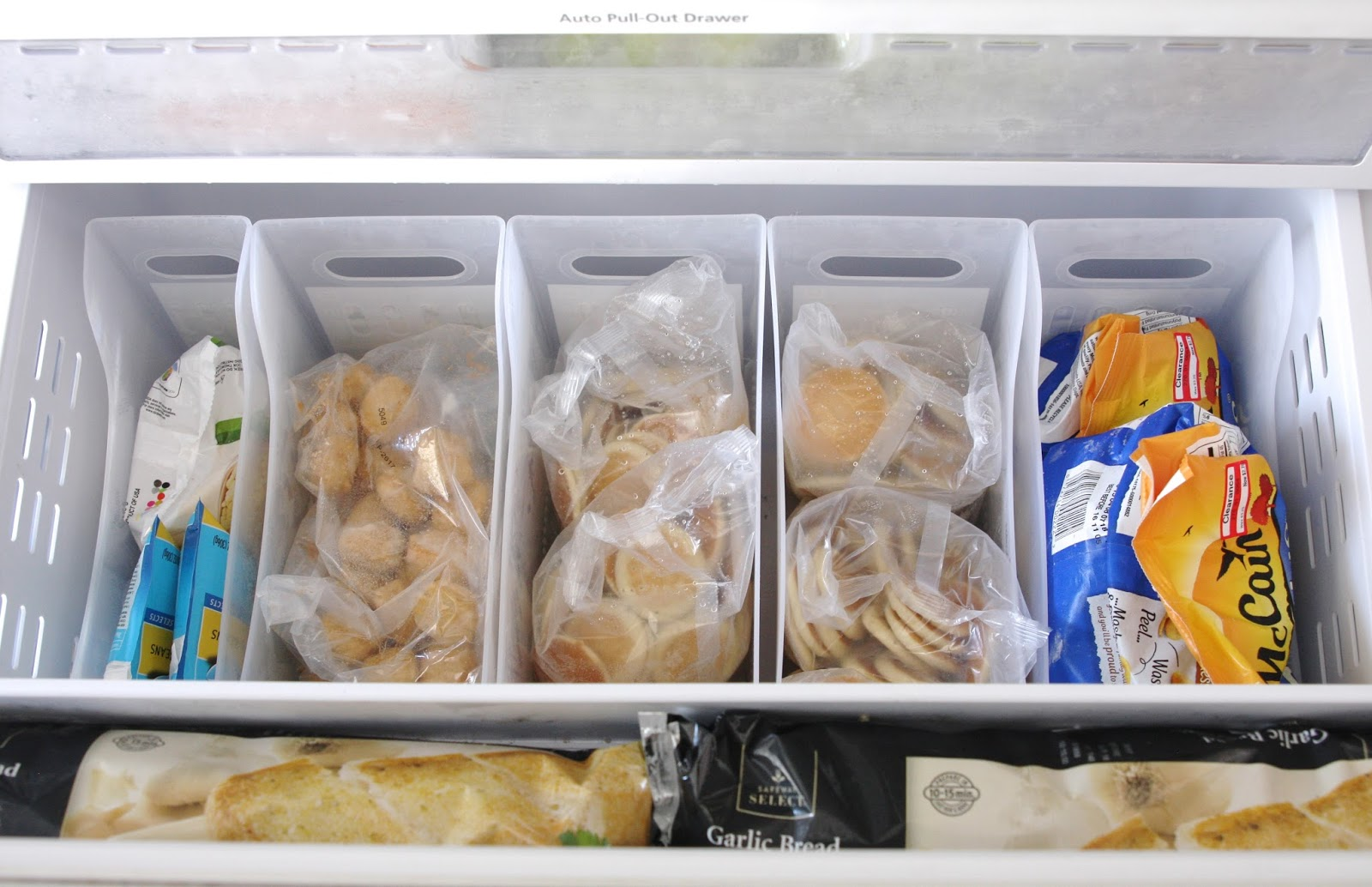 Small Kitchen Organization Ideas Organized Freezer Drawers Simply Organized