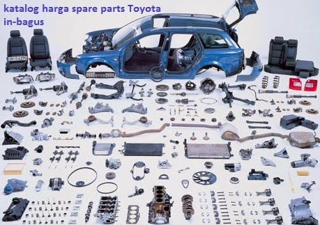 Katalog Harga Spareparts Mobil Toyota Avanza Dan Rush Original In Bagus