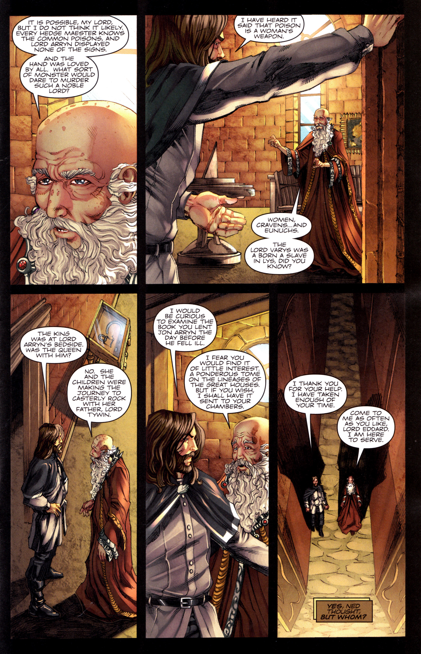 Read online A Game Of Thrones comic -  Issue #8 - 5