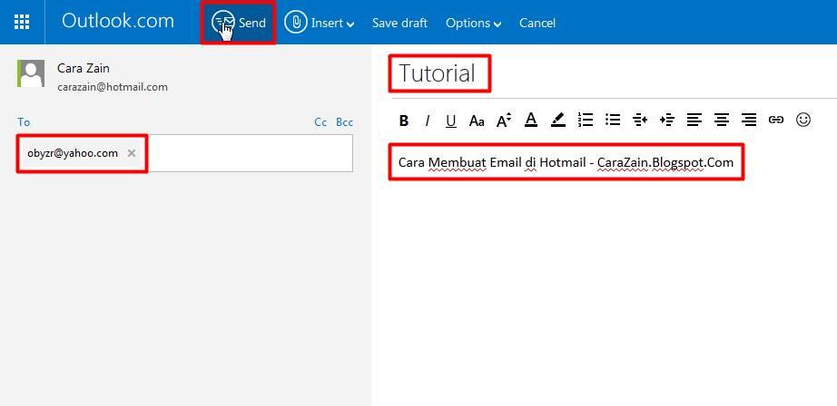 Cara Membuat Email Baru Di Hotmail Gratis Daftar