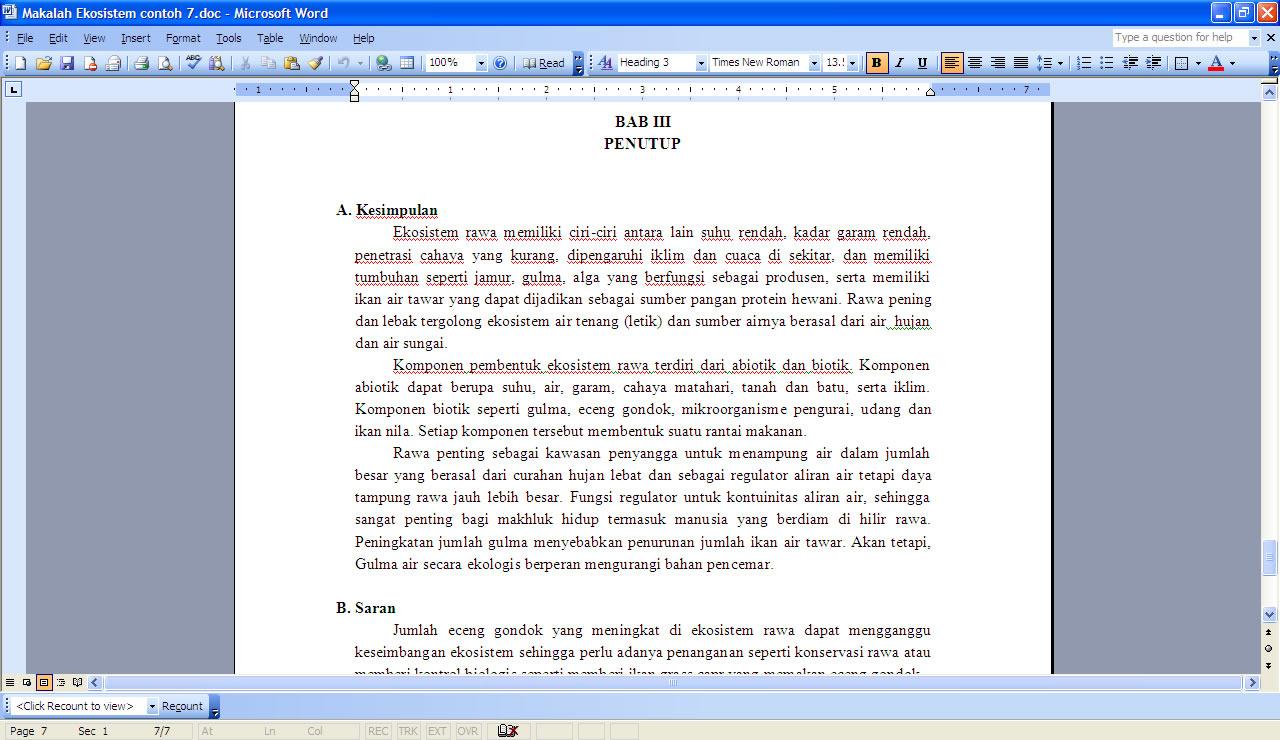 Contoh Eksposisi Klasifikasi Dalam Bahasa Jawa