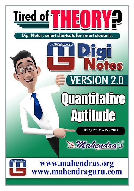 Digi Notes - 2.0 | IBPS PO Mains Special - 17.11.2017