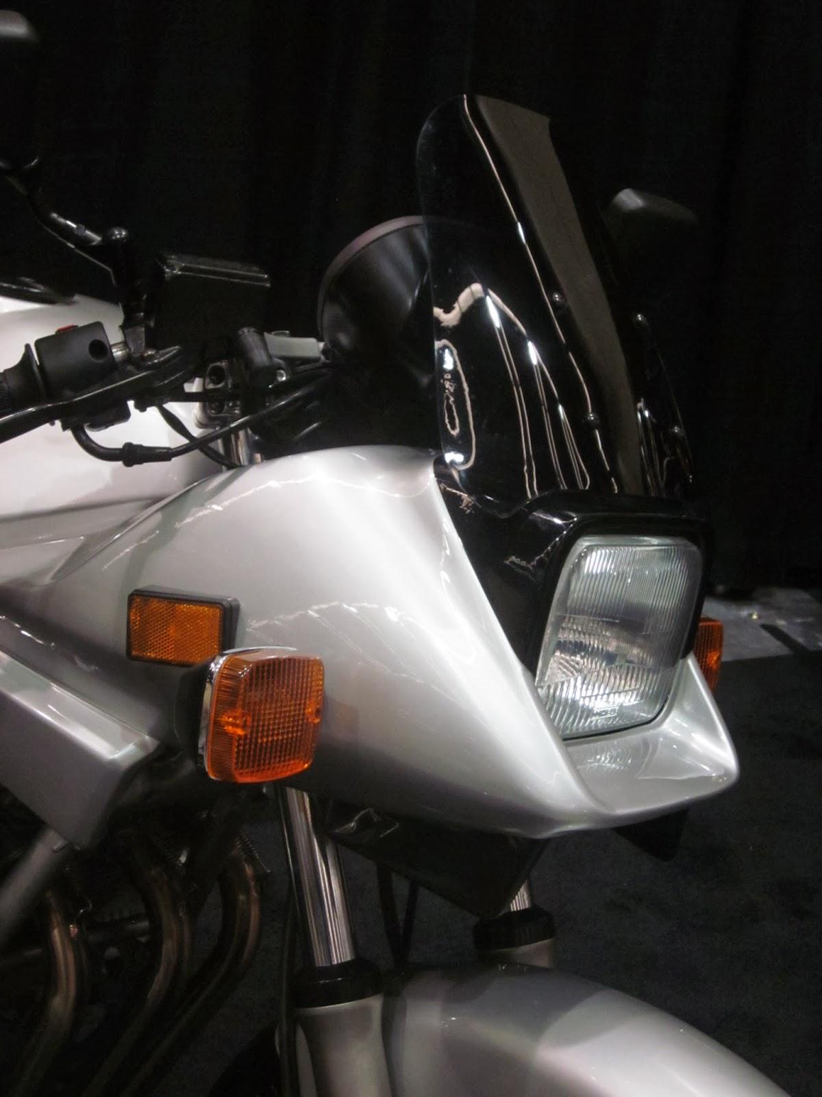 Oldmotodude Suzuki Gs Sz Katana On Display At The