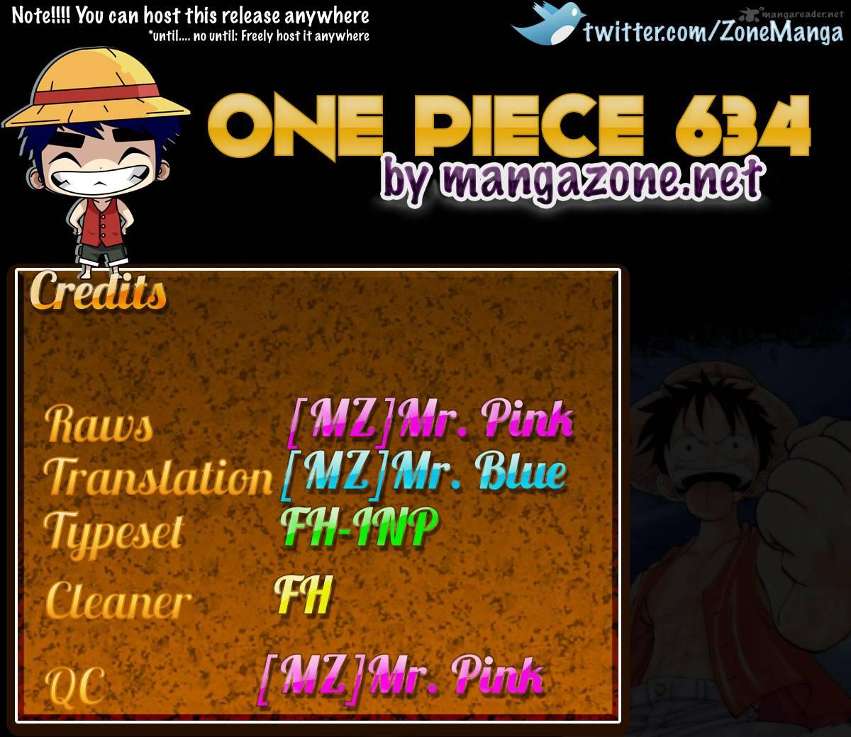 One Piece 634
