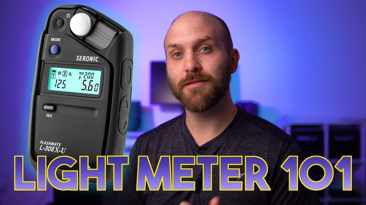 Photography 101: How to Light Meter for Light Ratios