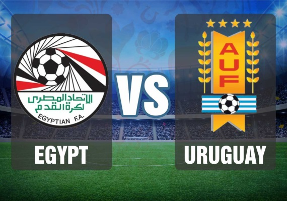 Egypt vs Uruguay, Group A fixture of the 2018 World Cup